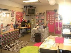 This is in craft because I'm determined to turn my moms classroom into this glorious piece of zebra girly heaven!!