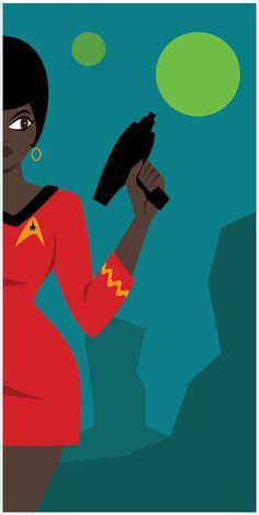 Lt. Uhura Print