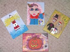 Original acrylic paintings for sale in our Etsy shop