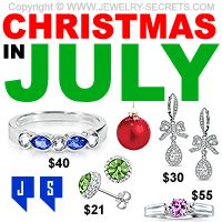 ► ► Jeweler's Huge Christmas Clearance In July Events!