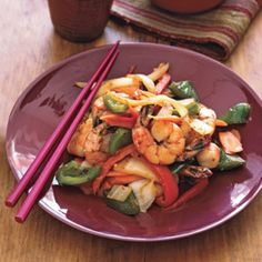 The spice in this dish from Jennifer Maeng, executive chef at Korean Temple Cuisine in New York City, adds more than taste. A compound  found in red-hot pepper may also rev up your metabolism. Wok star!