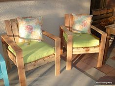 Redwood Lounge chairs | Do It Yourself Home Projects from Ana White
