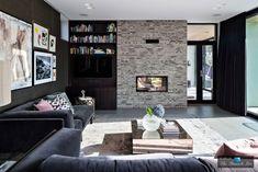 2014 Villa J Design by Johan Sundberg Architecture House Design, Interior And Exterior, House, Interior, Dream Decor, Home, White Brick Walls, House Interior, Beautiful Villas