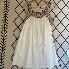 Anthropologie sundress Adorable sundress! Worn only a handful of times. Light and airy- great for summer! Dresses