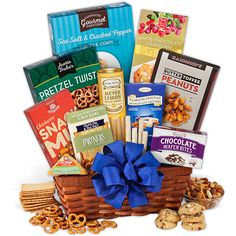 Make Their Birthday Memorable This Beautiful Gift Is Full Of Irresistibly Delicious Snacks Your Recipient