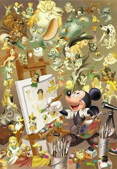 Well, it all stems from Mickey, eh?
