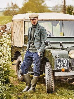 holdhard: 1953 Land RoverCountry Life / Chris Allerton