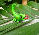 deviantART: More Like Fenrick, the lemur/sugar glider clay creature by ~crystalcookart