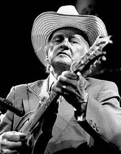 Bill Monroe, member of Country Music Hall of Fame, born in Rosine