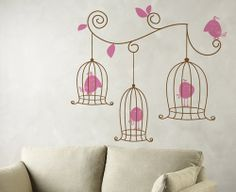 Birdies Wall Decal Sticker