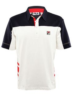fcafe877fe Fila Vintage Vilas Polo Fila Vintage, Vintage Men, Tennis Warehouse, Polo  Shirt,