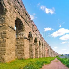 Parc of Aqueducts in Rome