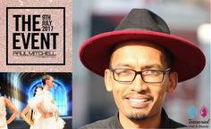 Senior Stylist Taurique Behardien to appear as Guest Artist at The Event Paul Mitchell in Johannesburg, Monte Casino on the 9th July 2017 #Salonlife
