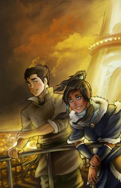AHH! Such a good scene. These two are so dynamic. I kinda see the creators doing something more with them, or they just wanted to show how hard Bolin had already fallen for Korra. If it was just a demonstration, it didn't prove much besides that adorable look of adoration :D