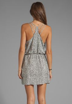 PARKER Daria Dress in Chevron - Dresses