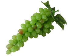 Set of 3 Glamorous Artificial Fruit Kitchen Table Decoration Grape Green 25cm * You can get additional details at the image link.