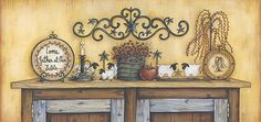 Come Gather At Our Table by artist Mary Ann June