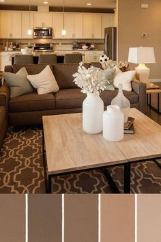 Living room decor brown couch ideas in march 2019 25 Living room decor brown couch ideas in march 2019 25 virginy living-room-decoration Brown Couch Decor Ideas Living march Room nbsp hellip Living Room Decor Brown Couch, Living Room White, New Living Room, Small Living, Living Room Color Schemes, Paint Colors For Living Room, Living Room Designs, Colour Schemes, Colour Palettes