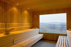 Wellnessarea Sauna