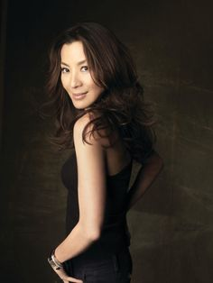 Michelle Yeoh - former beauty queen, ballerina, talented actress (does her own stunts and owns her own production company), humanitarian who's trilingual. I want to grow up to be her.