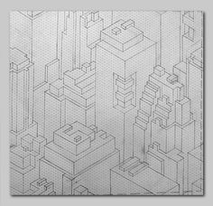 The Seamless Pattern Project | ISOMETRIC CITY on Behance