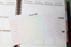 Pastel Envelopes 35 count Happy Mail Stickers for your Erin Condren Life Planner or Plum Paper Planner by PlanItPretty on Etsy