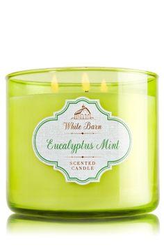 Eucalyptus Mint 3-Wick Candle - Fresh eucalyptus, spearmint & a dash of…
