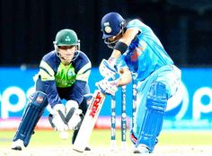 India vs Ireland, 34th match, Pool B Virat Kohli and Ajinkya Rahane ensured that there were no further alarm bells and they put on a 70-run partnership to get India over the line by eight wickets with 13.1 overs to spare.