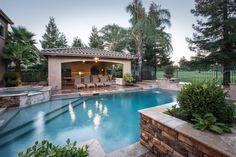 What a beautiful backyard.  #luxury #lodiwine #listing #realtor