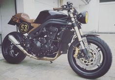 #triumph #speedtriple #caferacer #the 53'