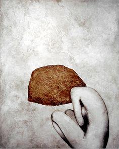Tumblr Monday 47 Marc Cinq-Mars (b.1973, Canada) - Solitude. Mixte sur bois, 122x152cm (2008)