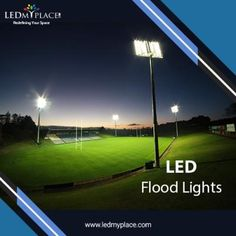 This LED Flood Light has rugged aluminium casing on the outside that provide necessary durability to withstand wind, dust, moisture or snow.