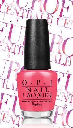 #SuzisHungaryAgain #OPIEuroCentrale  love this pink! perfect for my trip to europe this summer! :D