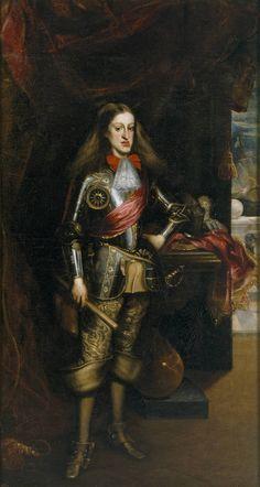 Carreño de Miranda, Juan. Carlos II, con armadura, 1681