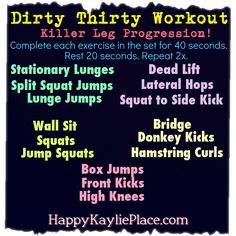 Killer Leg Progression Workout