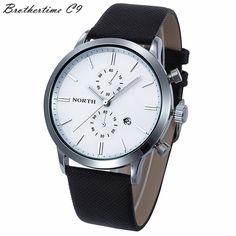 2016 Women Quartz Watch Brand Watches Fashion Retro Male Casual Genuine Leather Strap Men's Wristwatches Military Japan Watch  #Affiliate