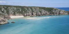 Schönste Strände Cornwall - Porthcurno Beach Cornwall, Strand, Beach, Water, Outdoor, Day Trips, Travel Advice, Vacation, Viajes