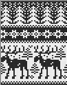 Fair Isle Knitting Patterns, Knitting Charts, Knitting Yarn, Hand Knitting, Knitting Machine, Vintage Knitting, Embroidery Patterns Free, Cross Stitch Patterns, Crochet Patterns