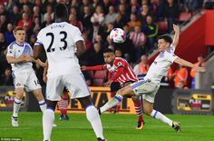 Sofiane Boufal breaks the deadlock at St Mary's Stadium with a stunning strike from outside the box