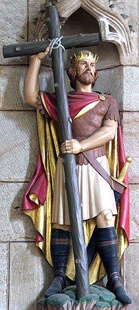 St. Oswald of Northumbria - © Nash Ford Publishing