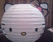 Zebra Bow Hello Kitty. $9.98, via Etsy.