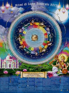 Calendario Lunare Siderale, Sideral Moon Calendar