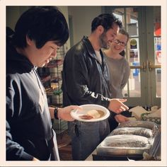 The pancake breakfast for the #MontereyInstitute Campus Food Drive raised $135 & 183lbs of food donations! Great work everyone!