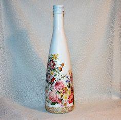 Darčeková fľaša Žiarivá kytička
