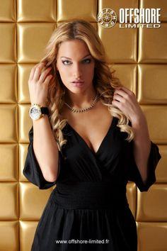 #OffshoreLimitedWatches Brand Ambassador is #BelgianModel & Actress #NataschaBintz