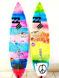 Loving these tie-dye boards!