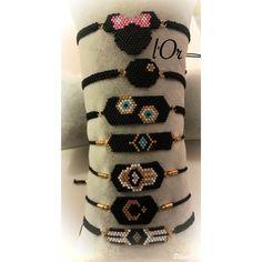 Diy Bracelets Patterns, Bead Loom Bracelets, Bead Loom Patterns, Jewelry Patterns, Beading Patterns, Seed Bead Jewelry, Beaded Jewelry, Seed Bead Projects, Evil Eye Jewelry