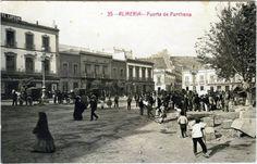 Puerta Purchena (Almería), 1910. Fuente: Archivo-Biblioteca de la Diputación Provincial de Almería.