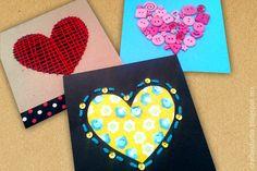 Craft Estudio: Tarjetas hechas a mano con corazones