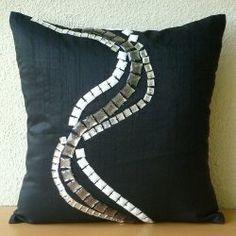 Zigs N Zags pillows